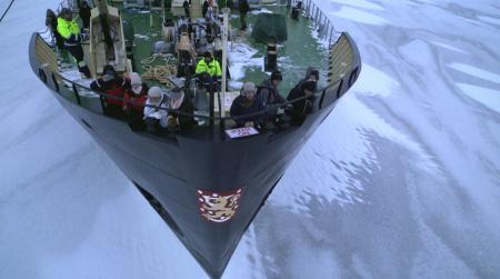 11_Frédéric Restagno à bord du brise-glace Sampo, Finlande ©2p2l