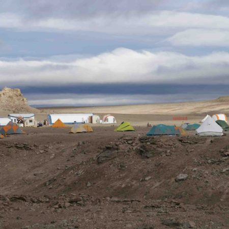Base camp & tents2 (c) Charles Frankel