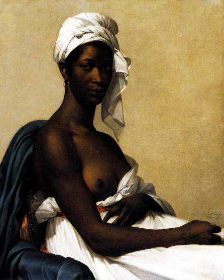 Marie-Guillemine_Benoist – Portrait_d'une_negresse