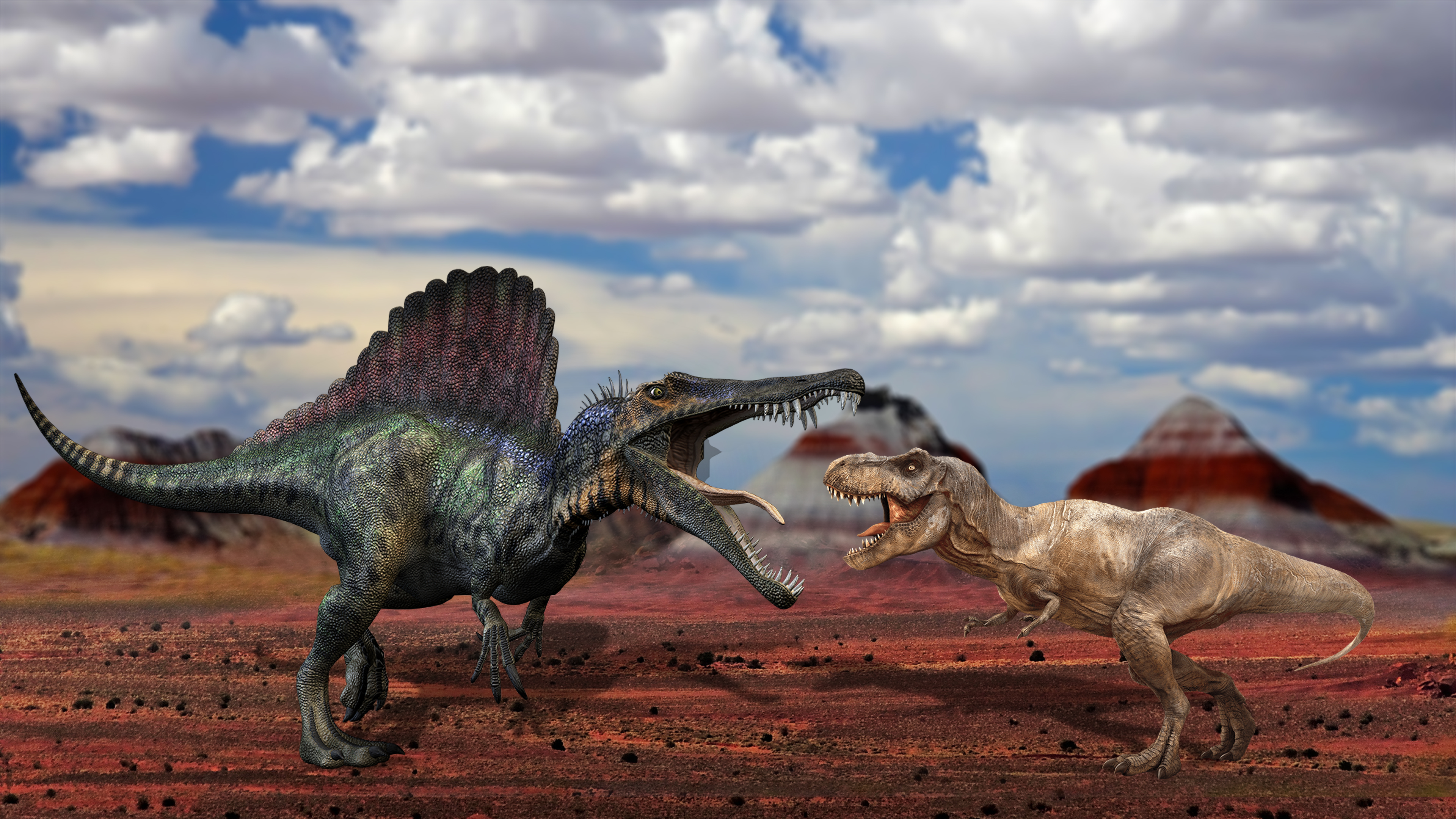 T-rex-VS-Spinosaure
