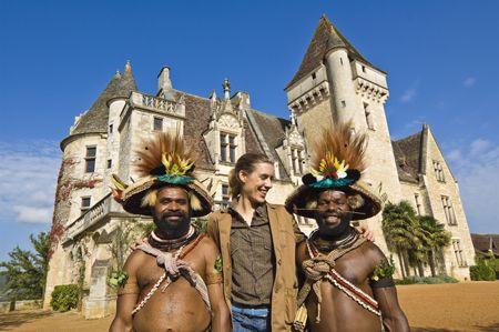 France, le voyage en France de Polobi et Mundeya